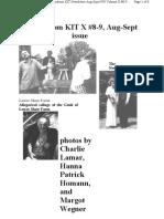 KIT Aug-Sept 1998, Vol X #8-9 Photos New 9-13-98