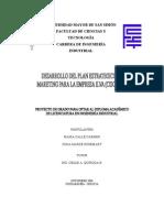 Desarrollo Del Plan de Marketing Para La Empresa ILVA