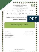 documentation sur le réseau hydrographique