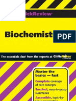 Biochemistry II (Cliffs Quick Review)