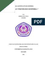 makalah geofisika