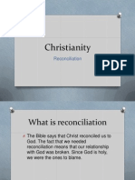 Christianity Reconciliation