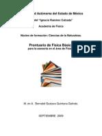 Prontuario de Fisica Basica 2009
