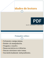 -Habilidades de Lectura