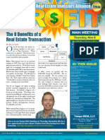 The Profit Newsletter November 2012 for Tampa REIA