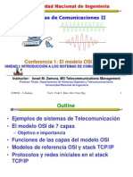 Lecture 1 OSI Model