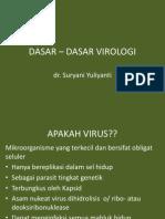 DASAR – DASAR VIROLOGI des 2010