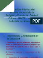 Capacitación HACCP