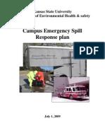 Emergency Spill Response Plan
