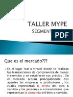 TALLER MYPE - Segmentacion