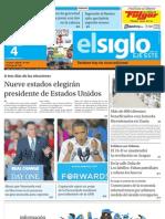 Elsiglo Eje Este Domingo 04-11-2012