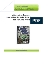 Learn How to Make Solar Panels
