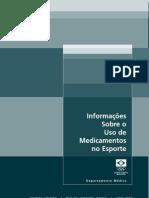 Informacoes Sobre o Uso de Medicamentos No Esporte - COB Cavaleiros Amazonas
