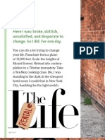Spirit Magazine Feature - Rent A Life