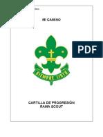 Mi Camino Progresion Scout
