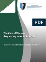 Clinical Guideline Number7 November2011