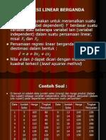x. Regresi Linear Berganda