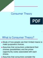 Consumer Theory IC