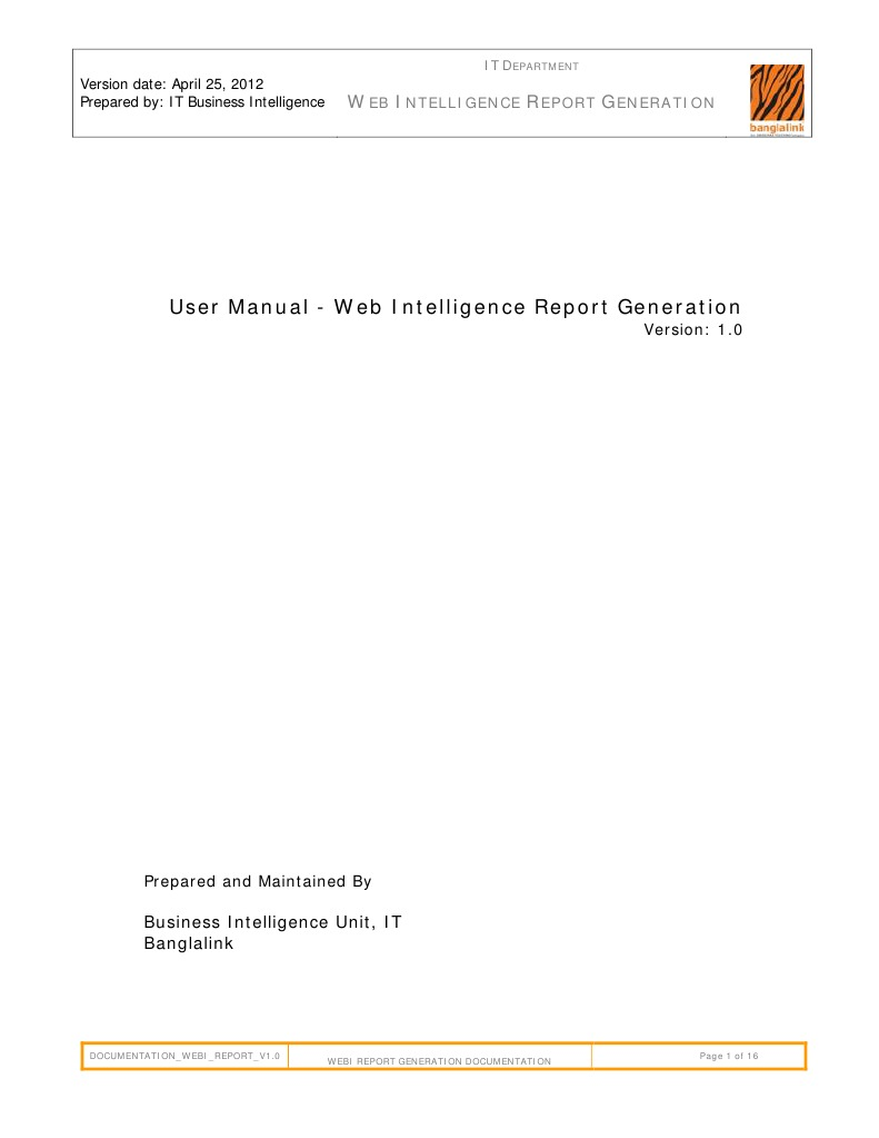 user manual bo webi report generation information retrieval rh es scribd com web intelligence user guide 4.2 sp4 web intelligence user guide 4.1