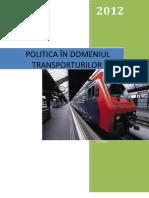 Politica Transporturilor in UE