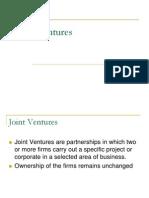 Module 2 Joint Ventures