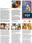 Brochure for 'The Art of Feodosiy Humeniuk',