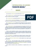 XXXV Inter. Vicente Bonil