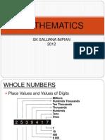 Mathematics Sk Saujana Impian