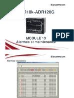 ADR10K Module13 Alarmes Maintenance F
