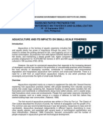 Aquaculture and its impacts on small-scale fisheries