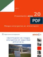 Charla I+de LaCanyada +i Riesgos Emergentes en Seguridad Alimentaria 27-4-2012
