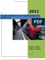 Business-Case_Cloud Computing for Vasan Group of Hospitals