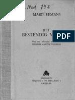 Marc Eemans - Het bestendig verbond (1941)