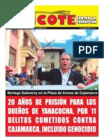 CHICOTE Contra la corrupción. AÑO 01 - Nº 001 - PRIMERA QUINCENA DE NOVIEMBRE 2012