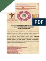 Principiul DEMNITATII PERSOANEI UMANE Scurta Prezentare Tematica