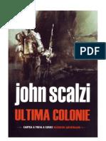 Ultima Colonie-john Scalzi