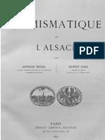 Numismatique de l'Alsace / par Arthur Engel, Ernest Lehr