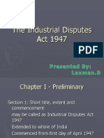 1 the Industrial Disputes Act 1947