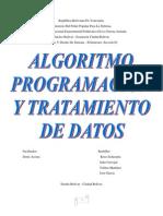 Algoritmo, Programacion y Tratamiento de Datos.