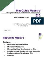 Tutorial MapGuide Maestro