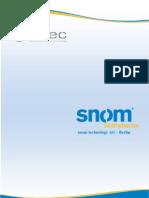SNOM - IP Phones Updated