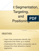 PPT5- Segmentation Targeting & Positioning