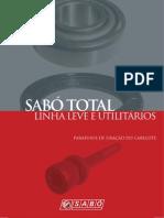 SABÓ CATALÓGO TOTAL LINHA LEVE E UTILITARIO 2012