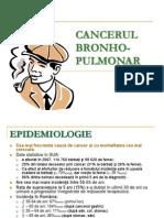 Curs 9 - Cancer Bronhopulmonar