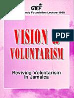 Vision of Volunteerism