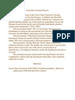 generalist nursing practice