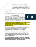 NORMAS DA CORREGEDORIA GERAL DA JUSTIÇA