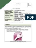 Guia de Aprendizaje Bases de Datos 0