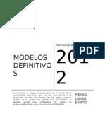 Modelos Definitivos