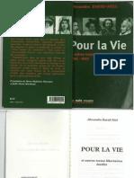 Alexandra David-Néel - Pour la vie
